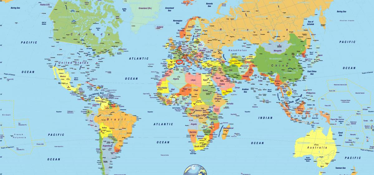 Barcelona World Map Barcelona Spain On World Map Catalonia Spain