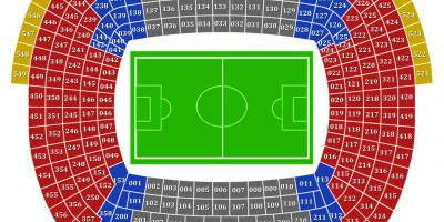 Fc barcelona stadium map