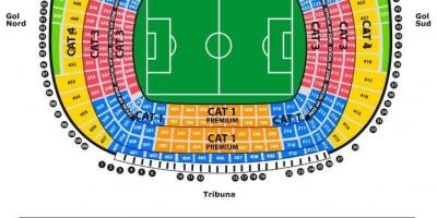 Seat map camp nou