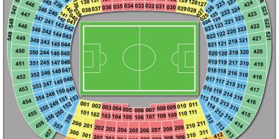 Camp nou stadium seat map