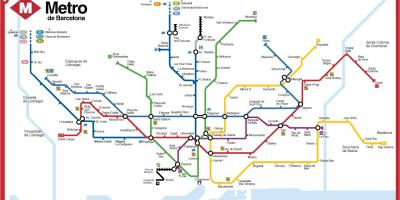 Bcn subway map